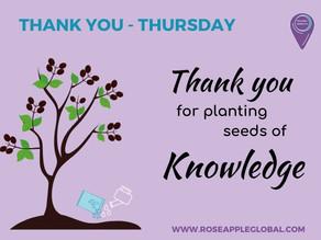 Thank You - Thursday #1