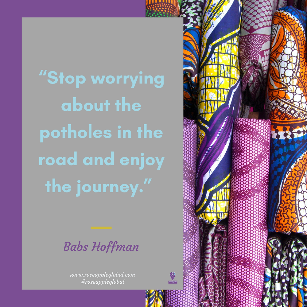 Travel Quote about worrying