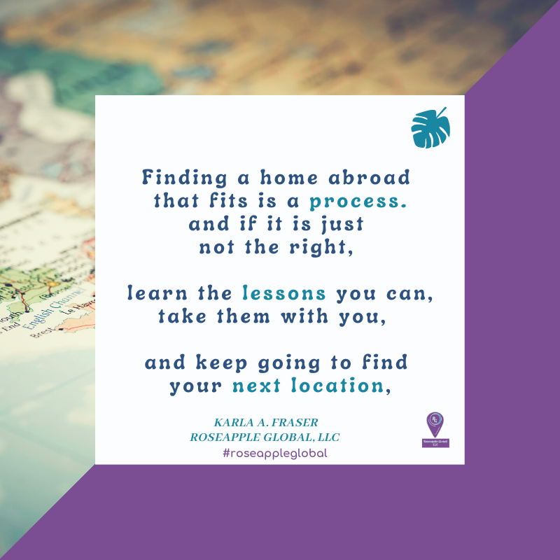 Quote about finding a home abroad