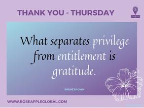 Thank You - Thursday #8