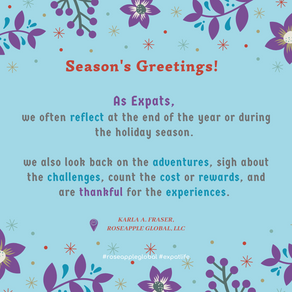2020 Expat Expression - Holiday Edition