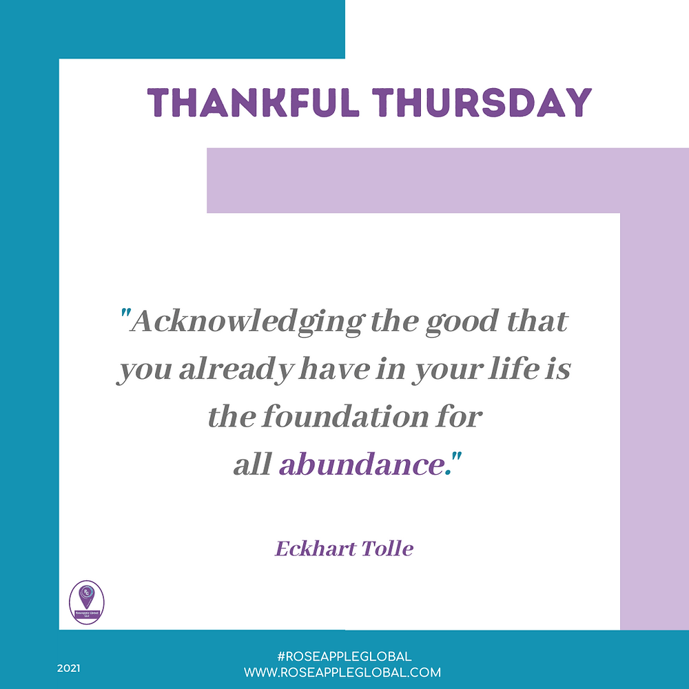 Thankful Quote about Abundance