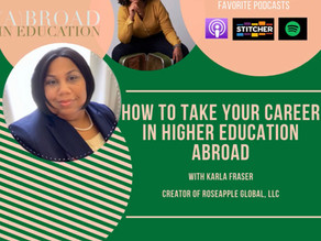 How to Take Your Career in Higher Education Abroad