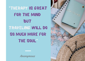 Is Travel Your Therapy?