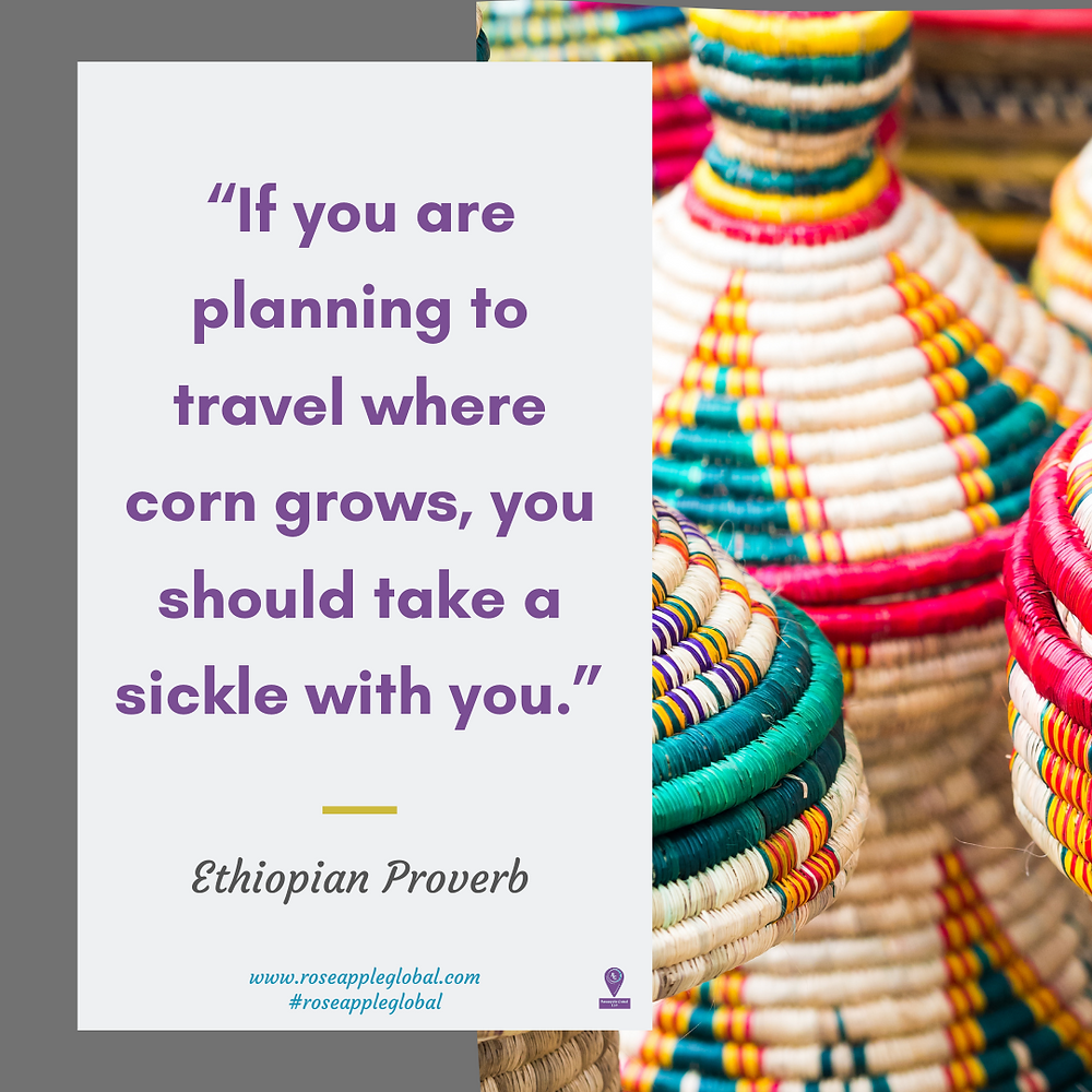 Travel Quote about being prepared for travel