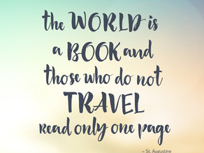 Like Reading, Travel Engages your Imagination