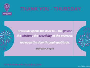 Thank You - Thursday #6