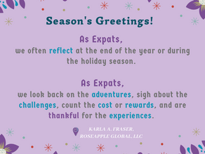 2019 Expat Expression - Holiday Edition
