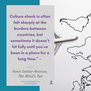 Have You Experienced Culture Shock?