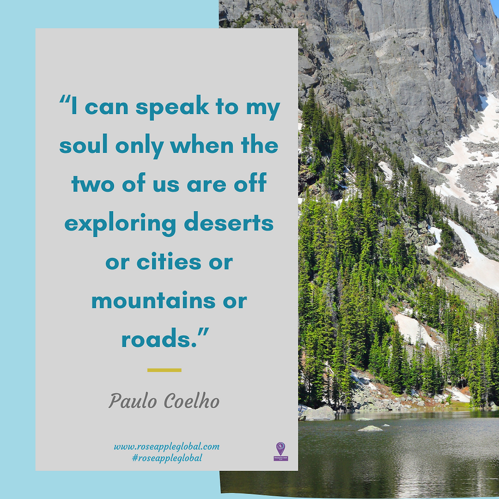 Travel Quote about traveling speaking to your soul