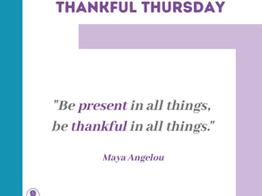 Thankful Thursday #19
