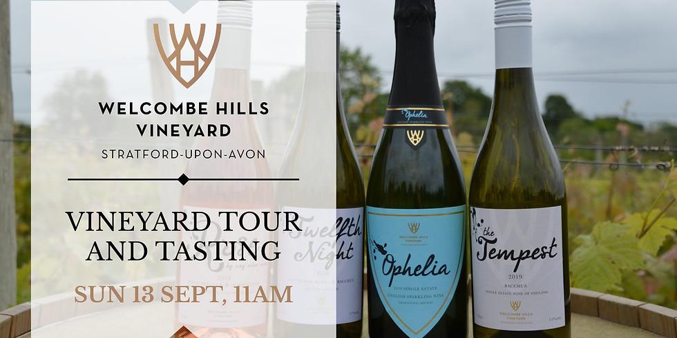 11am - Vineyard Tour and Wine Tasting