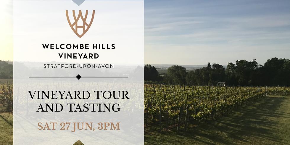 3pm - Vineyard Tour and Wine Tasting