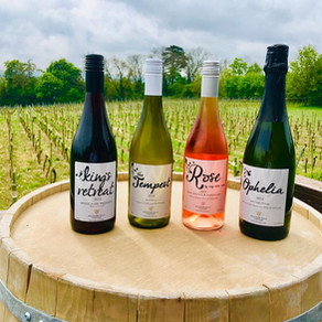 Back with a bang for English Wine Week!
