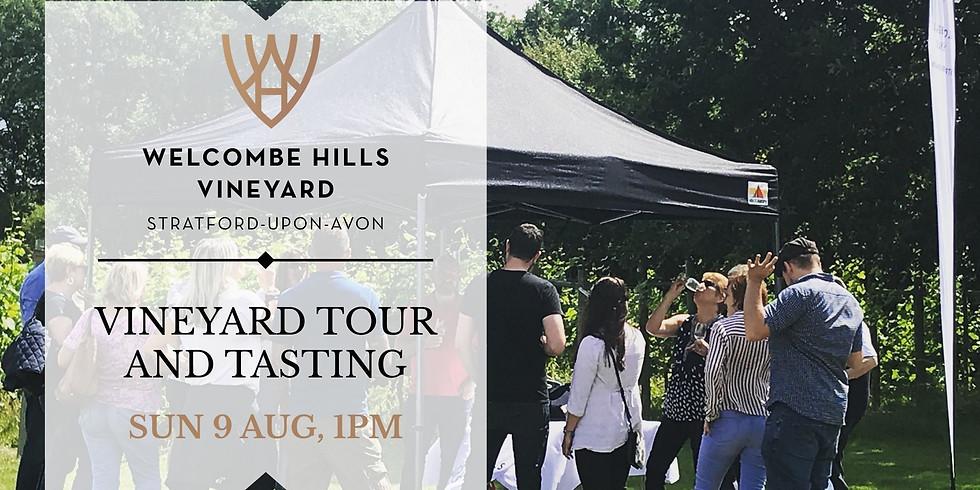 1pm - Vineyard Tour and Wine Tasting