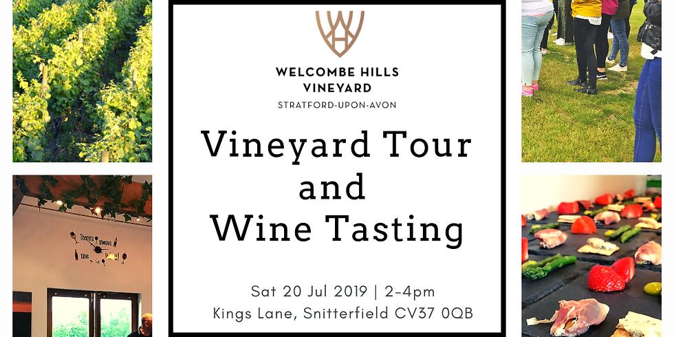 Vineyard Tour and Wine Tasting - July 2019