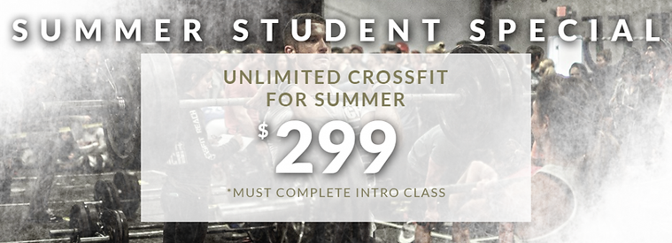 student crossfit special