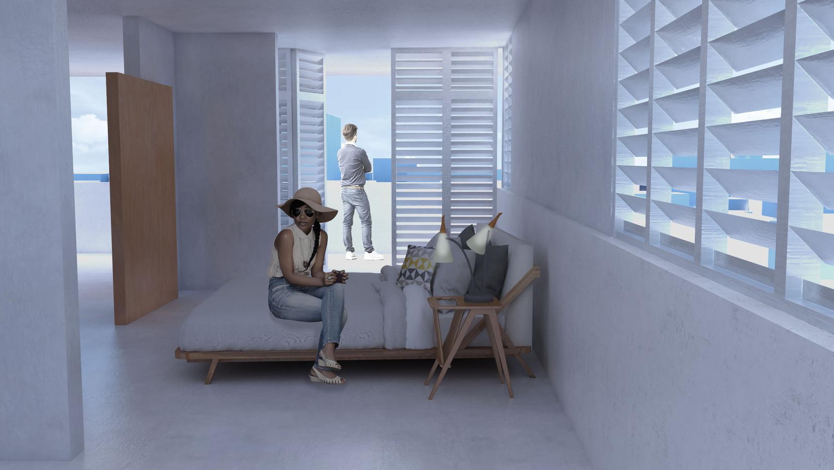 """Vista desde el """"suite"""""""