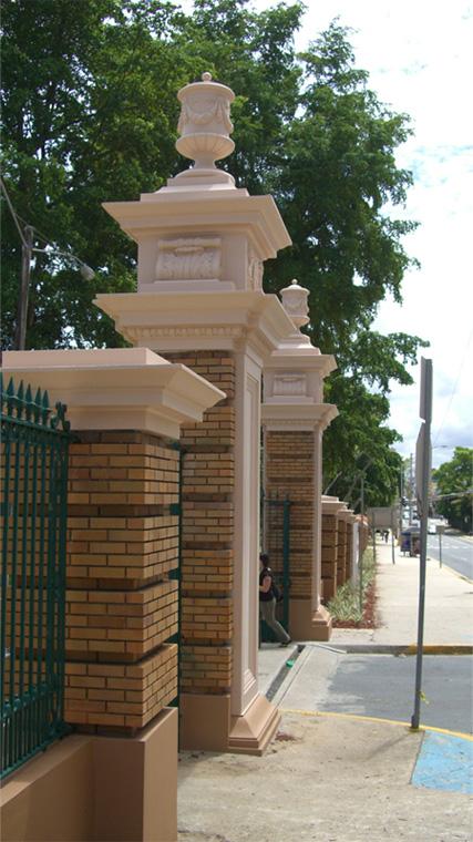 Main Gate Columns