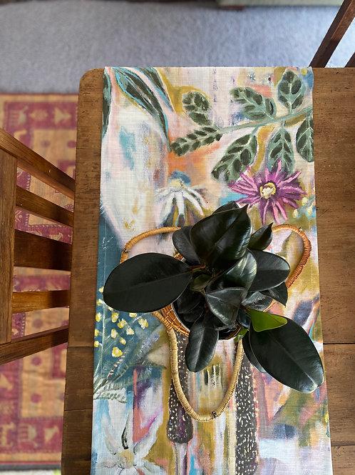 'gathering seeds' table runner