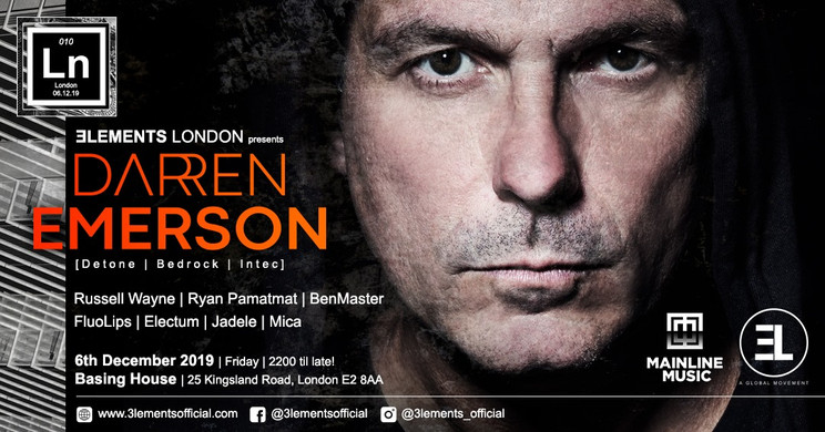 #010 / London w/ Darren Emerson Dec 2019