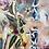 Thumbnail: midday bush song - stretched canvas print