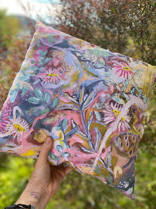 'wildflower country' cushion cover