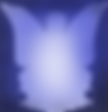 Lady Butterfly sillouette Blue.png