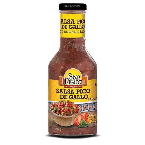 SALSA PICO DE GALLO - 12 FRASCOS DE 450 GR