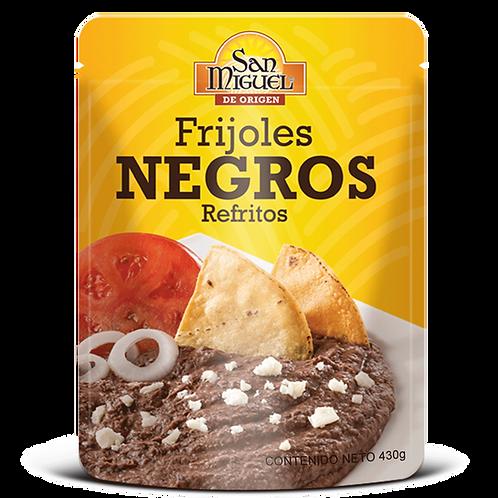 FRIJOLES NEGROS - 12 POUCH DE 430 GR