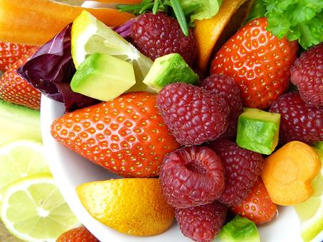 ¿Cuántas frutas y verduras tienes que consumir diariamente?