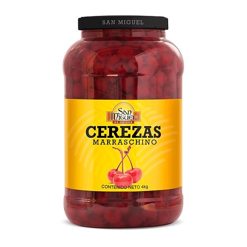 CEREZAS MARRASCHINO - 4/4000 GR