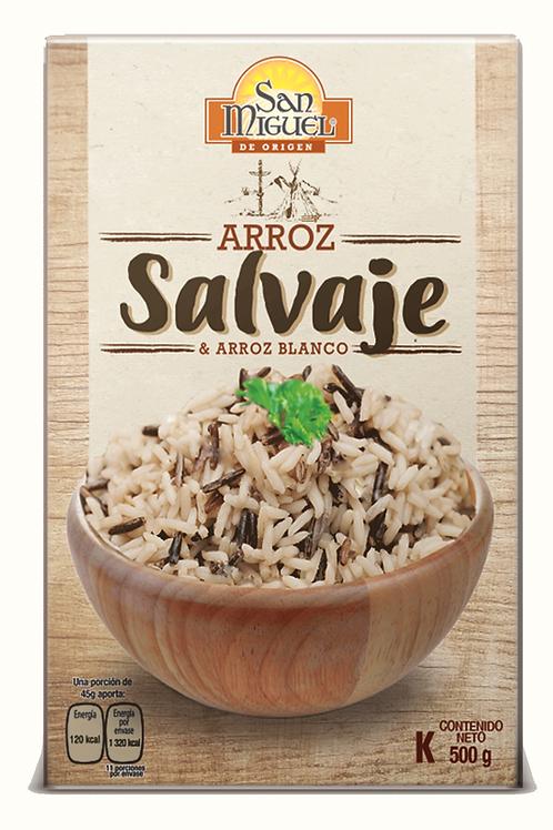 ARROZ SALVAJE - 12 CAJAS DE 500 GR