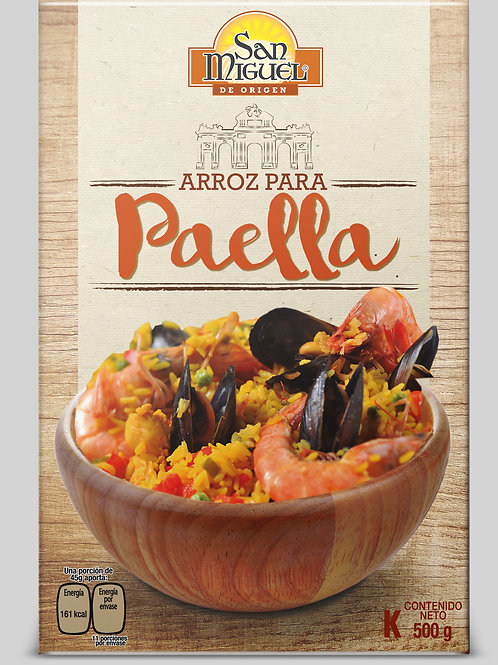 ARROZ PAELLERO - 12 CAJAS DE 500 GR