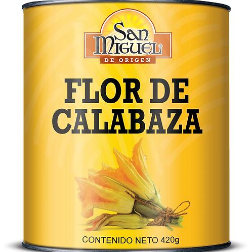 FLOR DE CALABAZA - 12 LATAS DE 420 GR