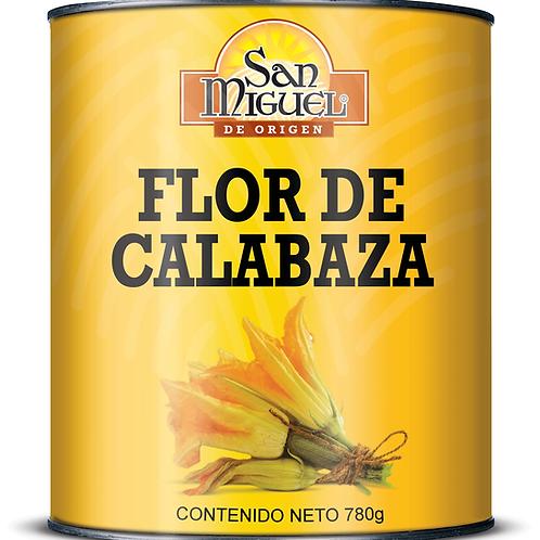 FLOR DE CALABAZA - 12 LATAS DE 780 GR