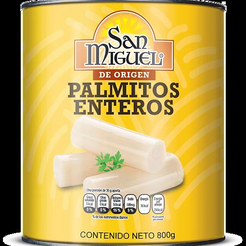 PALMITOS ENTEROS - 12 LATAS DE 800 GR