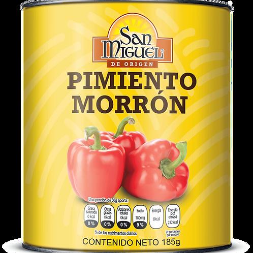 PIMIENTOS MORRONES - 24 LATAS DE 185 GR