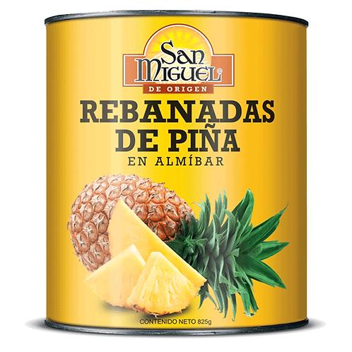 PIÑA EN REBANADAS - 12 LATAS DE 825 GR