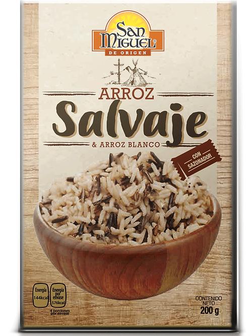 ARROZ SALVAJE - 12 CAJAS DE 200 GR