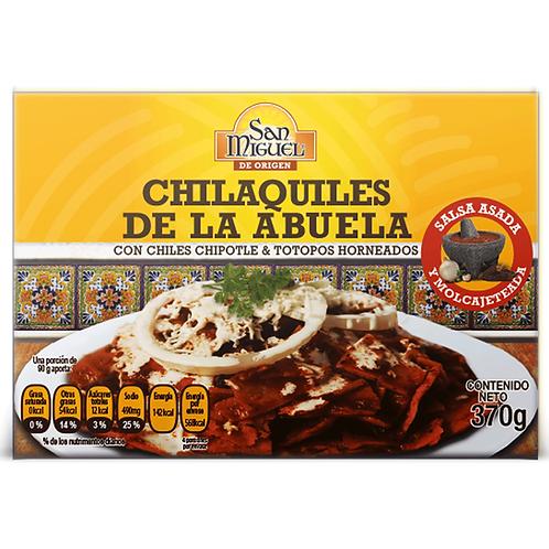 CHILAQUILES DE LA ABUELA - 12 CAJILLAS DE 370 GR
