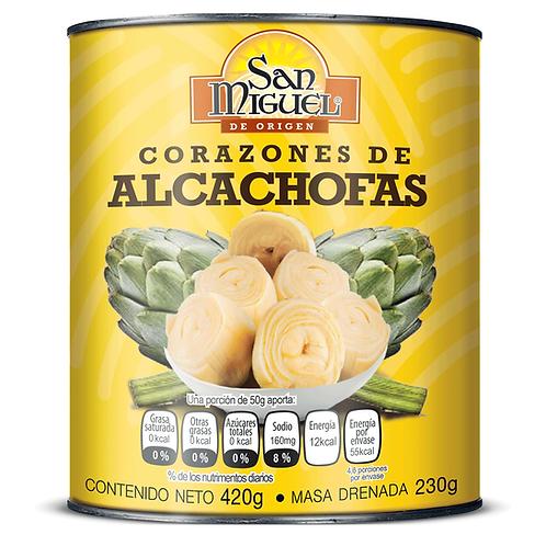 CORAZONES DE ALCACHOFAS - 12 LATAS DE 420 GR