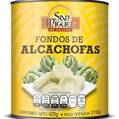 FONDOS DE ALCACHOFAS - 12 LATAS DE 420 GR