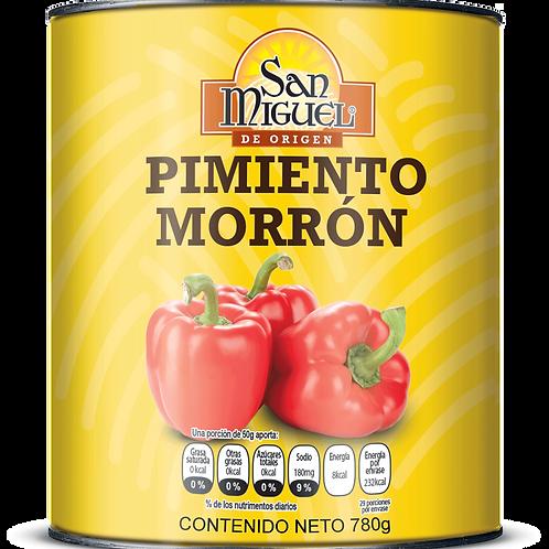 PIMIENTOS MORRONES - 12 LATAS DE 780 GR
