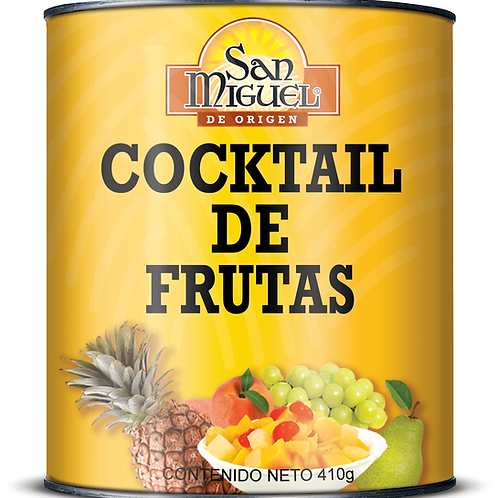 COCKTAIL DE FRUTAS - 24 LATAS DE 410 GR
