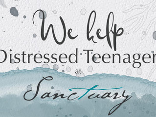 At Sanctuary, we help distressed teens (and their parents)