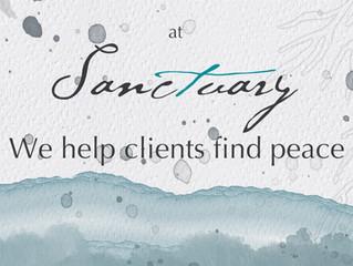 At Sanctuary, we help clients find peace