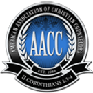 American Association of Christian Counselors seal. Sanctuary therapists are AACC members.