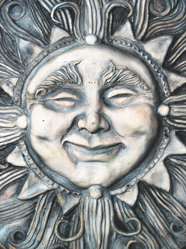 metal sun face; Sanctuary Christian Counseling in Shippensburg PA