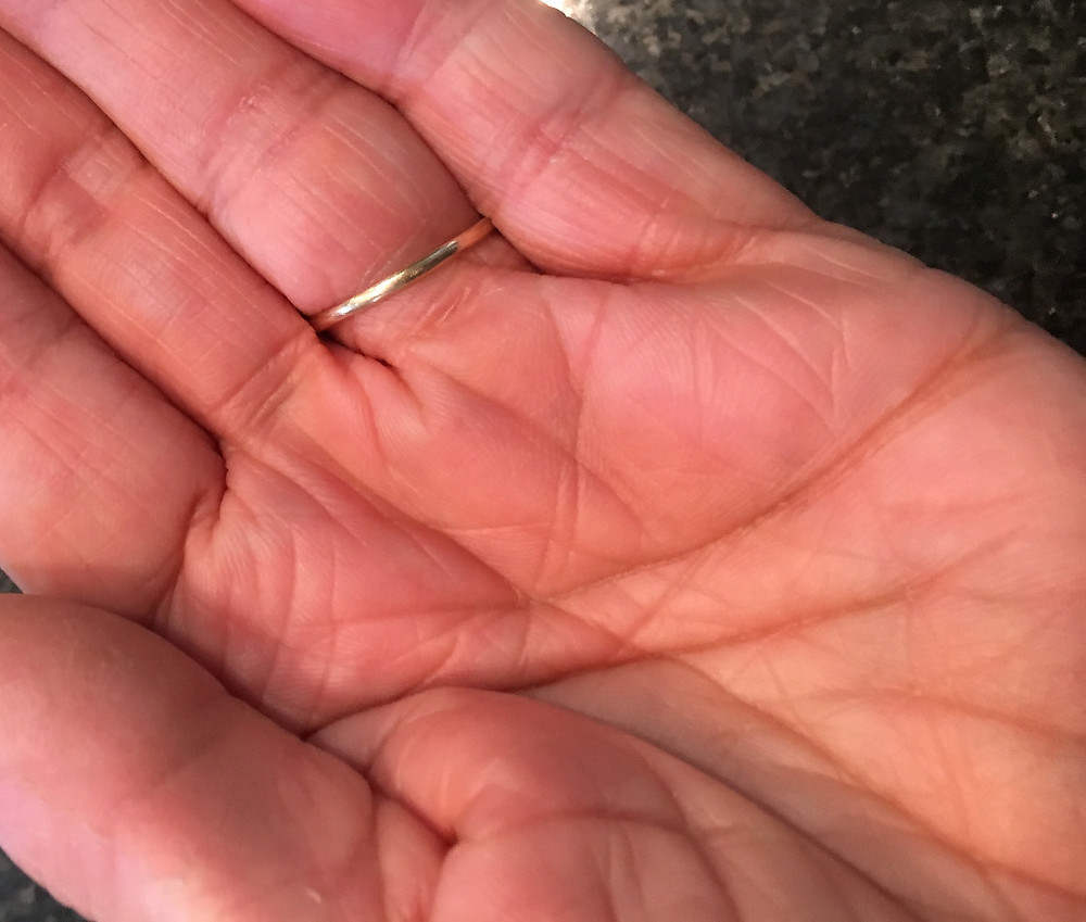 hand, palm up of therapist from Sanctuary Christian Counseling in Shippensburg PA